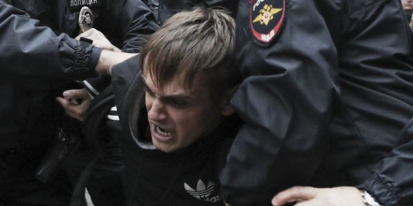 After a crackdown on protesters, Moscow's rulers reach for the lawbooks