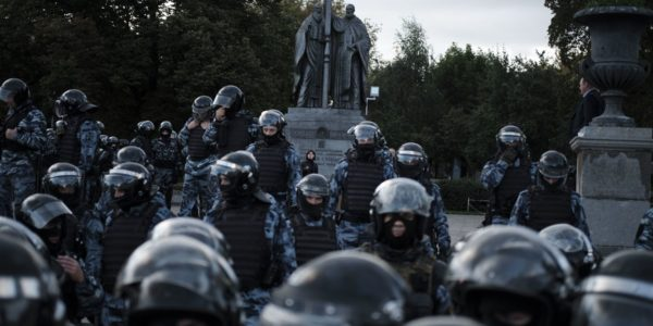 Digital technology and the suppression of the Moscow protests