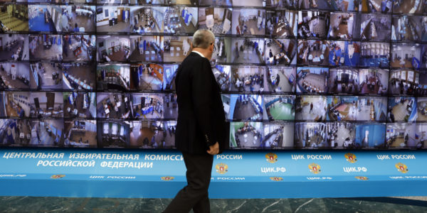 Election day results in Russia: headed toward a bumpy ride