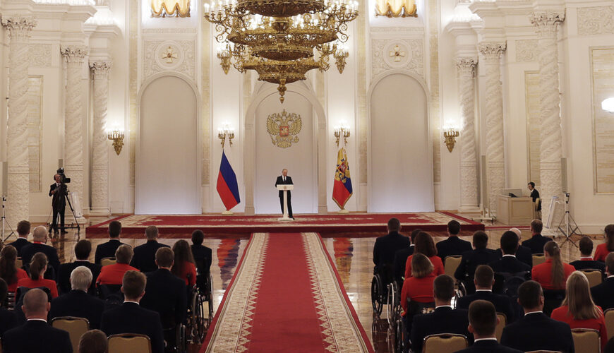 Authoritarian Russia: The trajectory of political evolution
